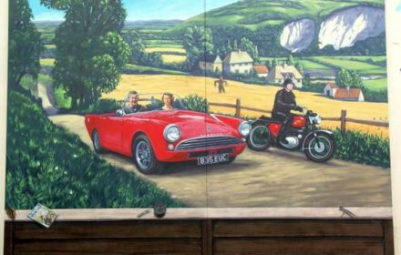 Mural – private residence, Dorking, Surrey 2009
