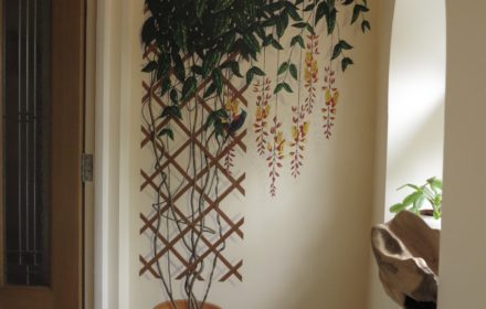 Trompe l'oeil mural –  private residence Surrey