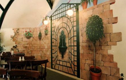 Mural – Kibbi's Cafe, Adelaide, Australia