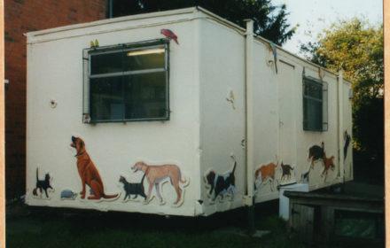 Mural, The Veterinary Centre, Henley on Thames