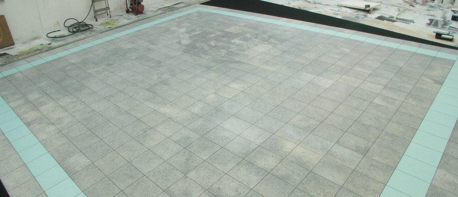 Tiled Floor Theatre Scene